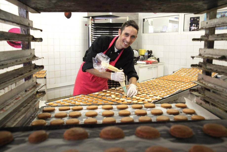 Bruno Laffargue a fondé Mic Mac Macaron il y a 10 ans.