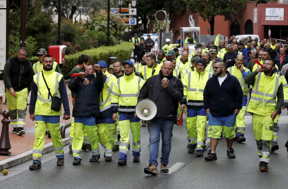 Ces salariés espèrent être moteur d'un mouvement de tout le service public de Monaco.