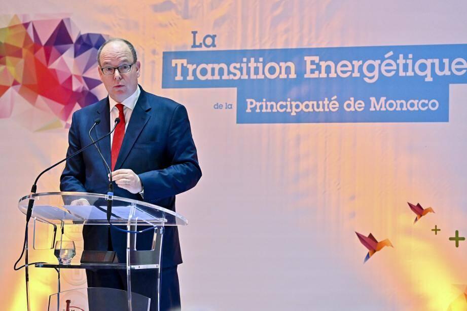 Le prince Albert II a lancé un message fort, exhortant chaque individu a changer ses comportements pour sauver la planète