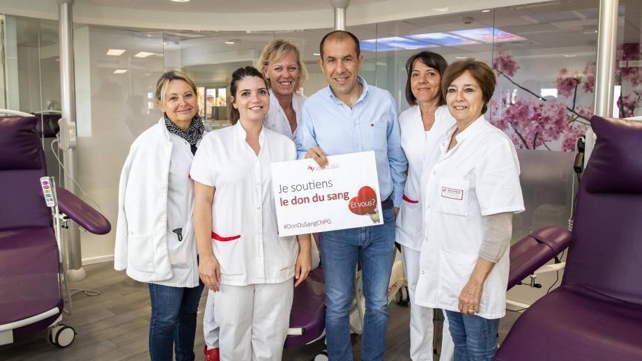 Faites comme Leonardo Jardim, donnez votre sang!