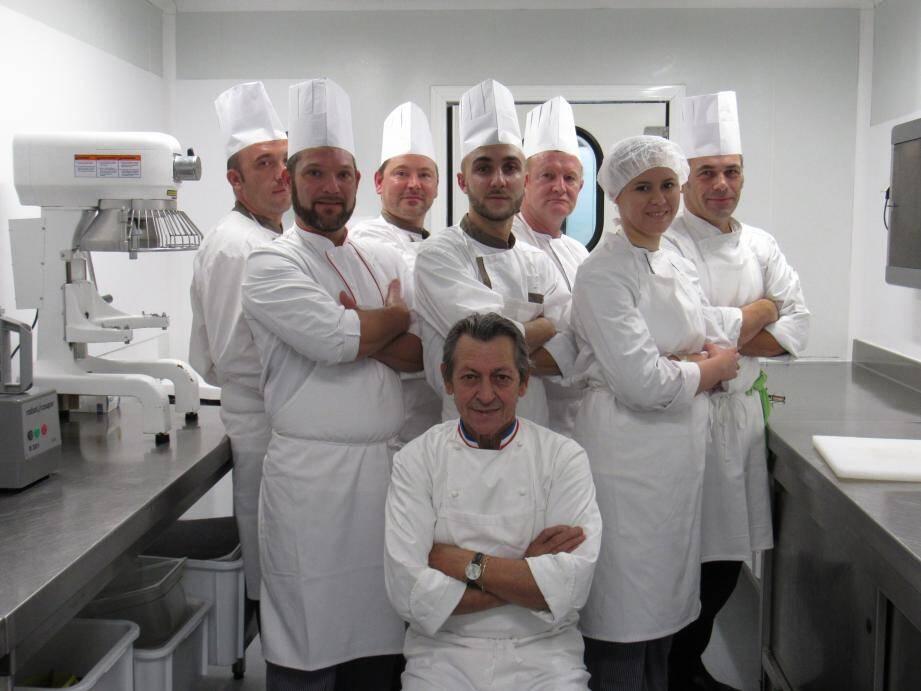 La venue de Jacques Maximin dans ces cuisines, ça n'a que du positif.