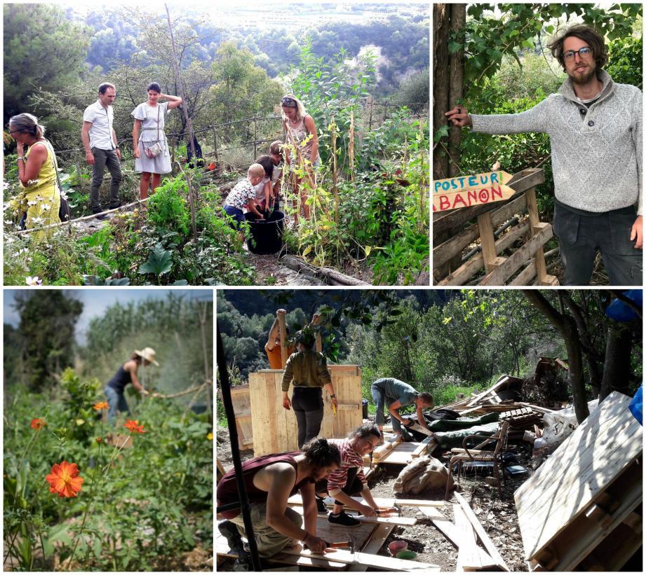 Le jardin du Petit Pessicart, 1 hectare à flanc de colline, ouvert à tous.