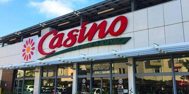 Un magasin Casino, illustration.