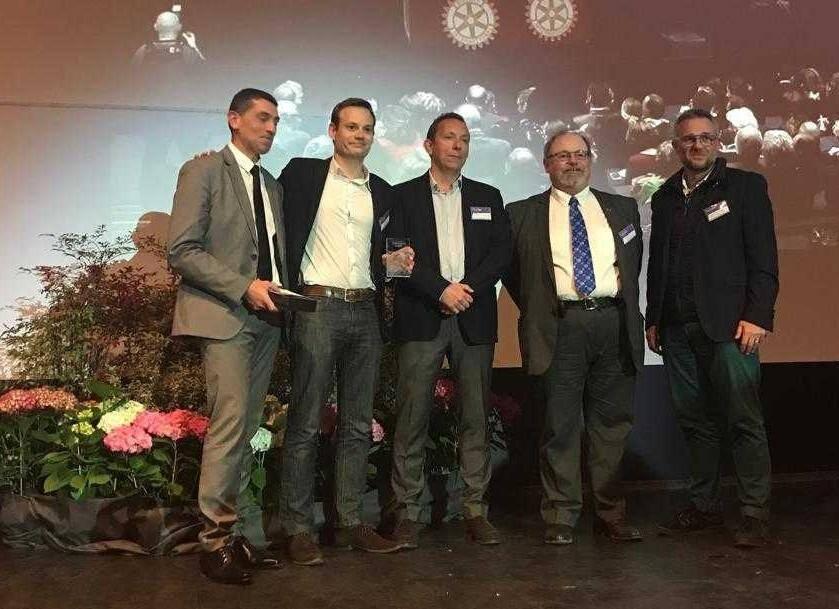 Whoog lauréat du Trophée de l'innovation du Rotary District 1760 dans la catégorie Santé.