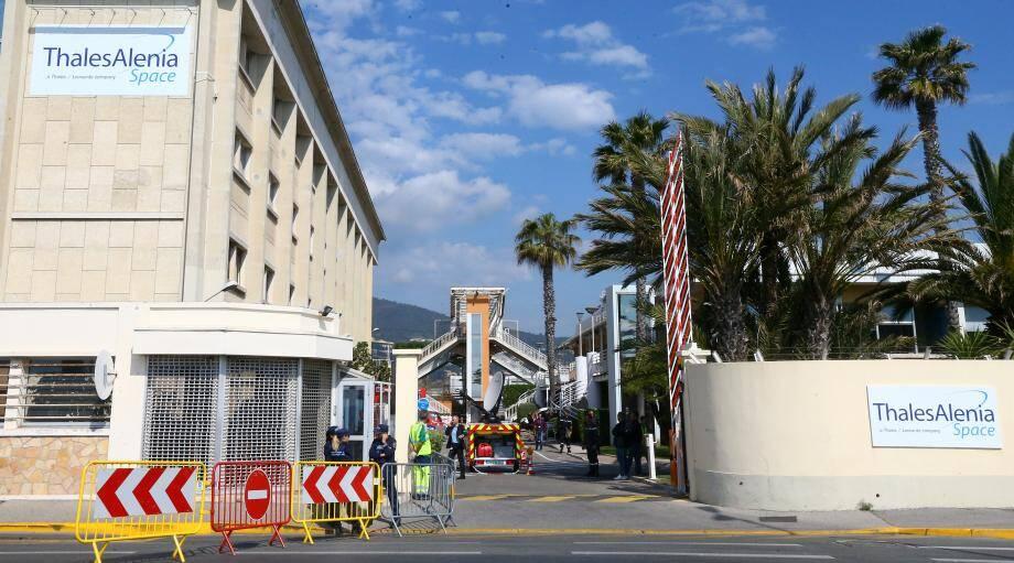Thales Alenia Space à Cannes la Bocca