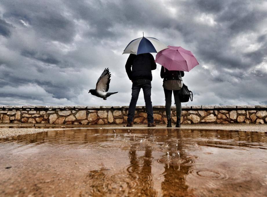 Illustration de la pluie.