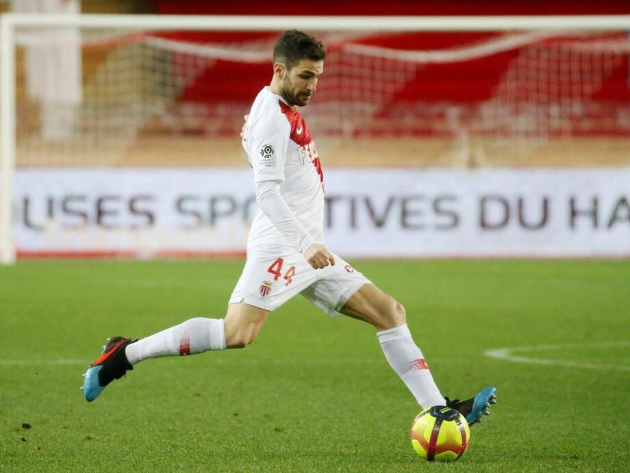 Cesc Fabregas, ici contre Toulouse, vise haut la saison prochaine avec l'AS Monaco.