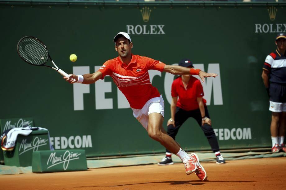 Novak Djokovic éliminé du tournoi de Monte-Carlo.