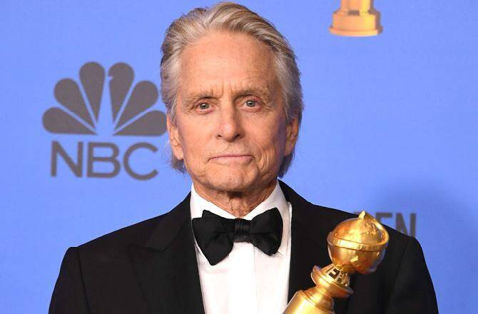 Tout juste auréolé d'un Golden Globe, Michael Douglas recevra la Nymphe de Cristal, en juin, au Festival de Télévision de Monte-Carlo.