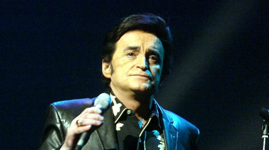 Dick Rivers en concert à Nice en 2005.