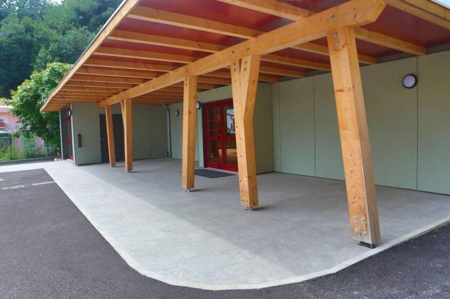 Le vol s'est déroulé dans la salle communale Henri-Monin de Gorbio où le club Taewondo Nice Elite donne régulièrement des cours.