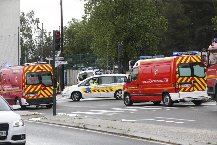 Les victimes sont actuellement en observation à l'hôpital Sainte-Musse, à Toulon.