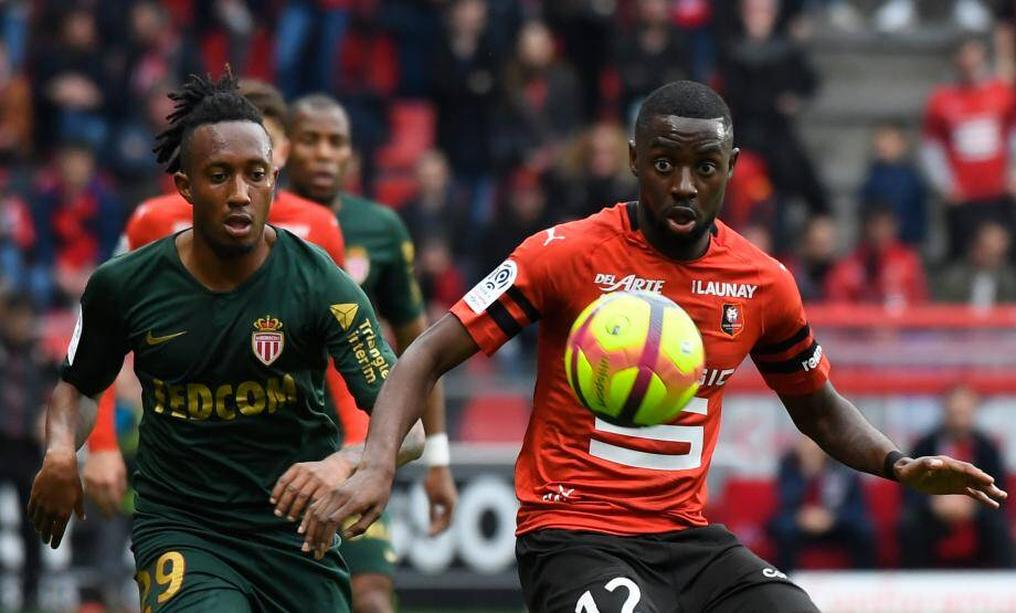 Lors de Rennes-Monaco.