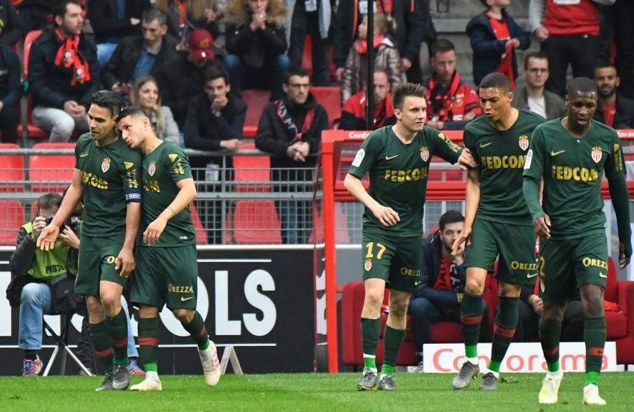 Les Monégasques ont arraché le nul à Rennes.