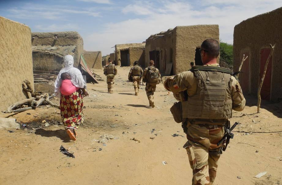 Un soldat de la mission Barkhane au Mali.