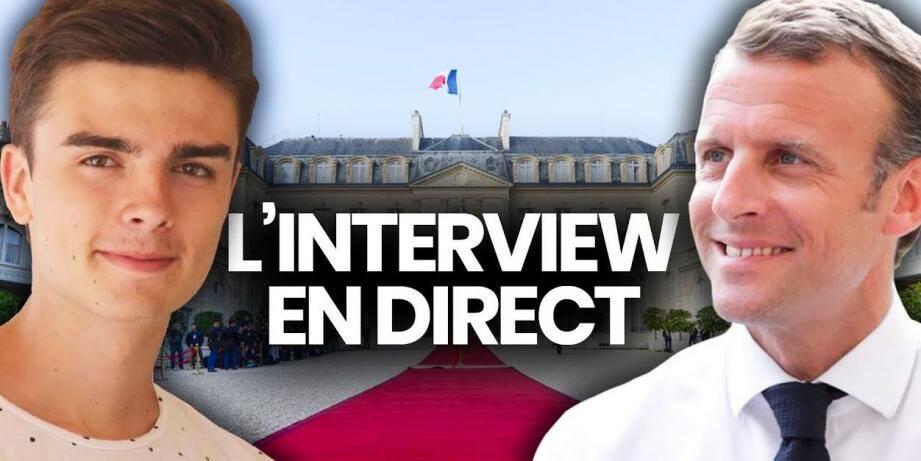 L'entretien aura bien lieu ce soir à 18h15, et sera diffusé sur YouTube et sur Facebook.