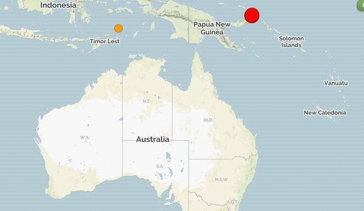 Un séisme de magnitude 7,5 a été enregistré en Papouasie-Nouvelle-Guinée, ce mardi 14 mai.