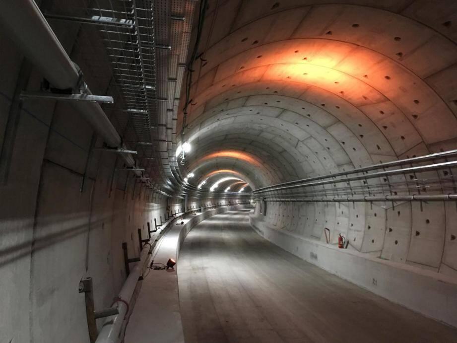 Une portion du tunnel entre la rue de France et Alsace-Lorraine, en mai 2018.