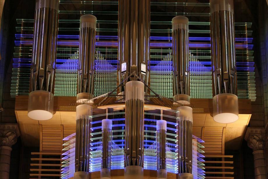 Les élèves d'Olivier Vernet, titulaire des grandes orgues de la Cathédrale de Monaco, monteront sur scène après les étudiants de la FIPAC.(Archives MM)