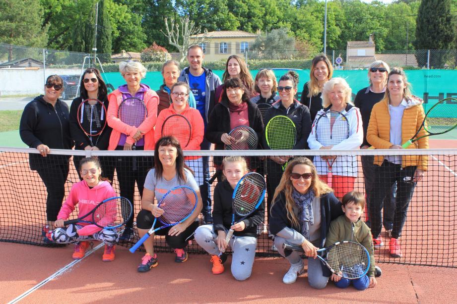 Un week-end de tennis intense pour toutes ces dames.