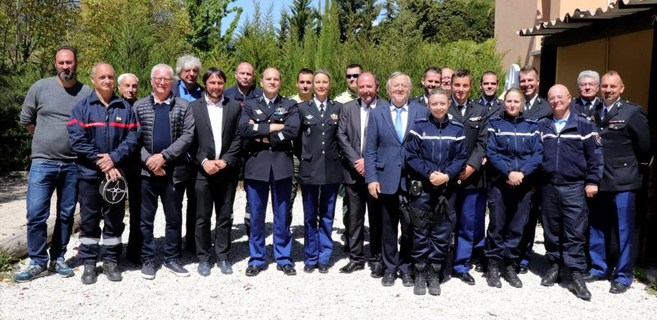 Une brigade de gendarmerie au complet, une présence accentuée auprès des populations et des résultats « extrêmement satisfaisants » constatés par le commandant François Cordeille.