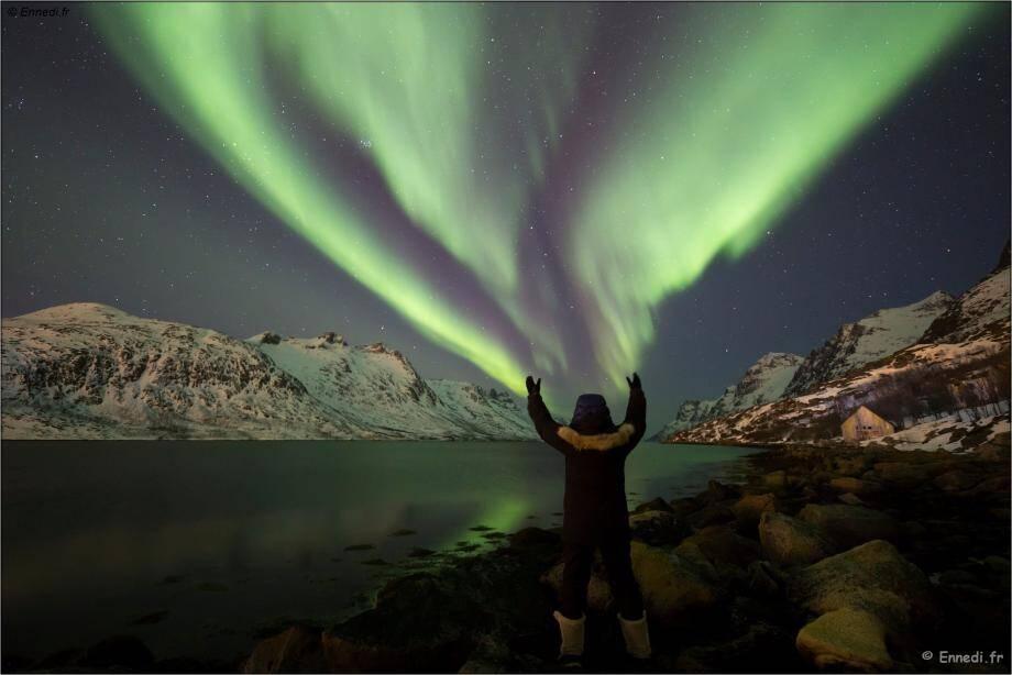 Les aurores boréales, un des plus beaux phénomènes célestes qu'offre la nature...
