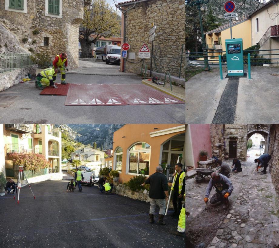 Plusieurs travaux ont eu lieu sur la commune.(DR)