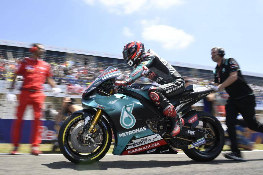 Epatant poleman, Fabio Quartararo n'a pas pu aller au bout de son rêve andalou, hier à Jerez.