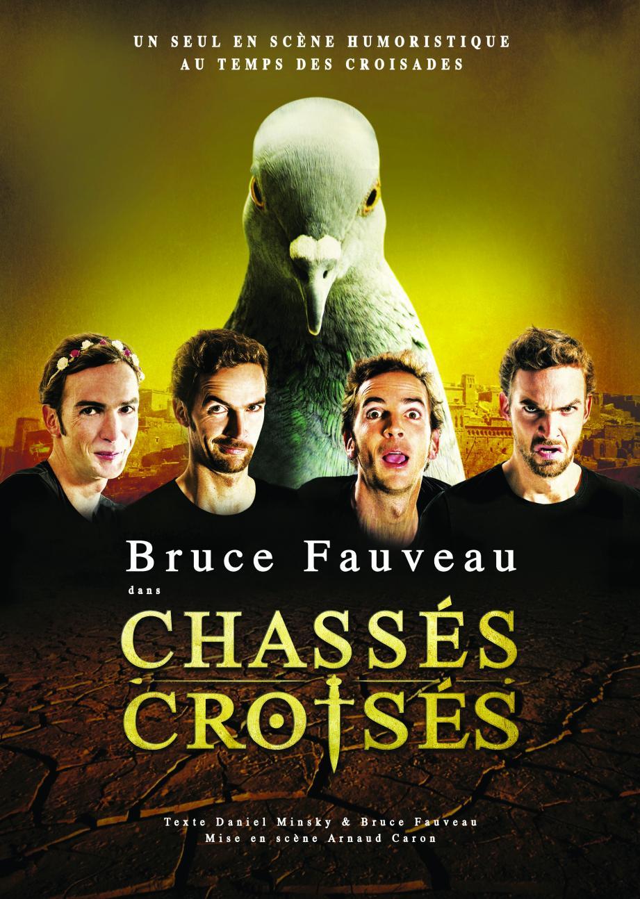 Bruce Fauveau se transforme au théâtre Le Tribunal pour faire voyager le public.(DR)