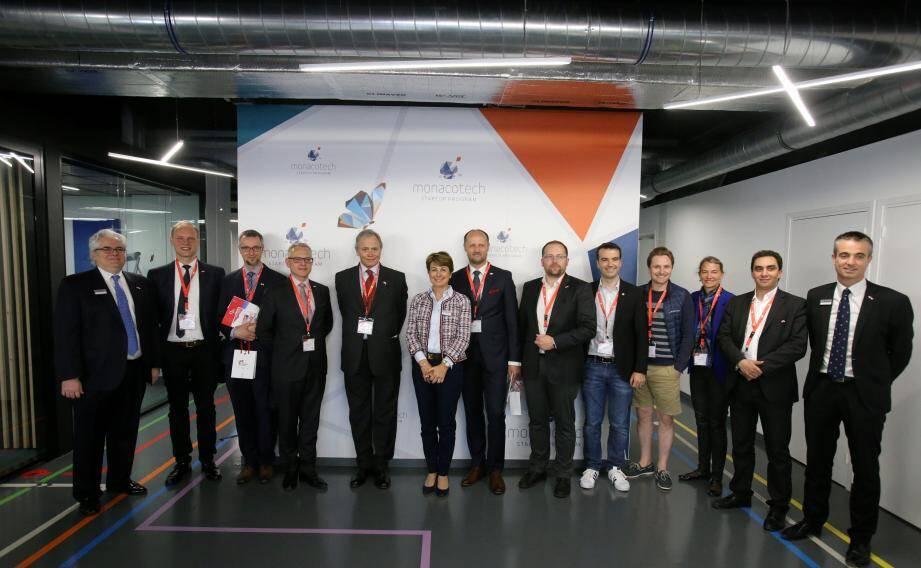 La délégation polonaise a visité MonacoTech, dirigé par Fabrice Marquet, en présence du consul honoraire de Monaco en Pologne, Tomasz Wardynski, et d'Isabelle Berro-Amadeï, l'ambassadrice de Monaco à Varsovie, Vienne et Berlin.
