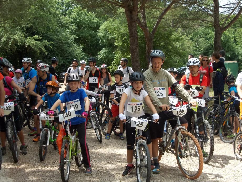 Cette course invite les familles a participé à une journée sportives. (DR)