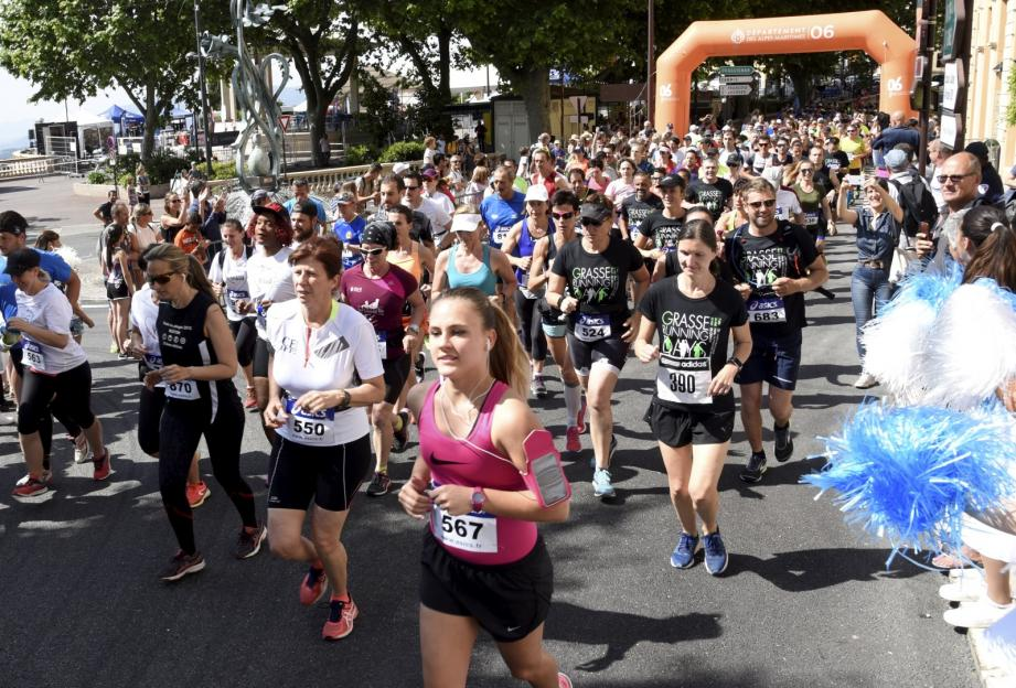 Il devrait y avoir du monde le 2 juin pour lees Grasse Running Days.