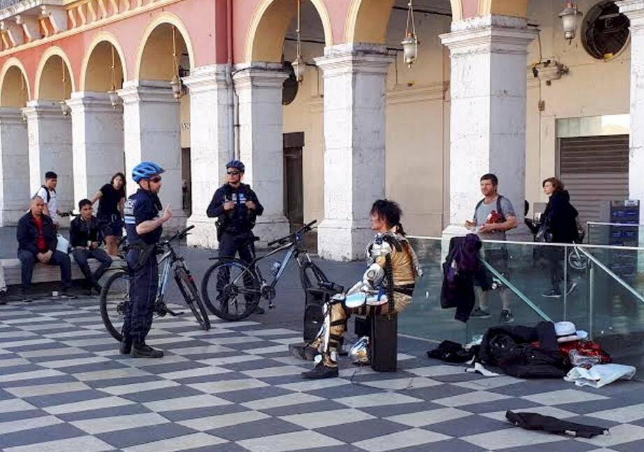 La police municipale a été appelée par les riverains excédés par le bruit.(DR)