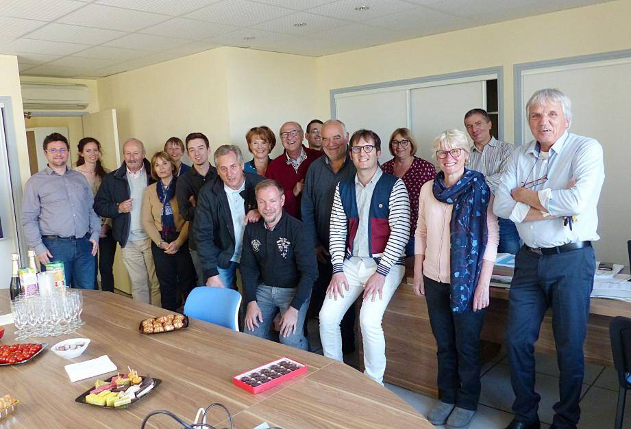 Julien Pollet a souligné qu'il avait aimé travailler au sein de la CCLGV, avec des partenaires et des élus dynamiques.