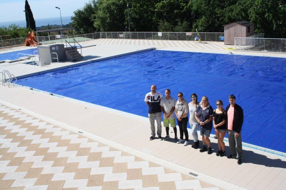 Le cadre est idéal, entre vue mer et montagne, la piscine Jean-Maret ouvre aujourd'hui.