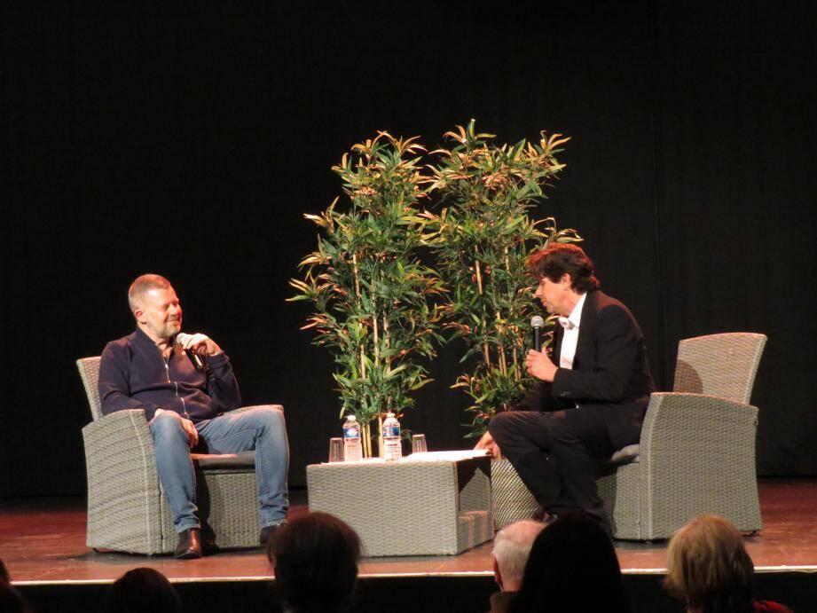 Eric Naulleau, 3e invité des « Paroles d'auteurs », était interrogé par Jérôme Lévy.