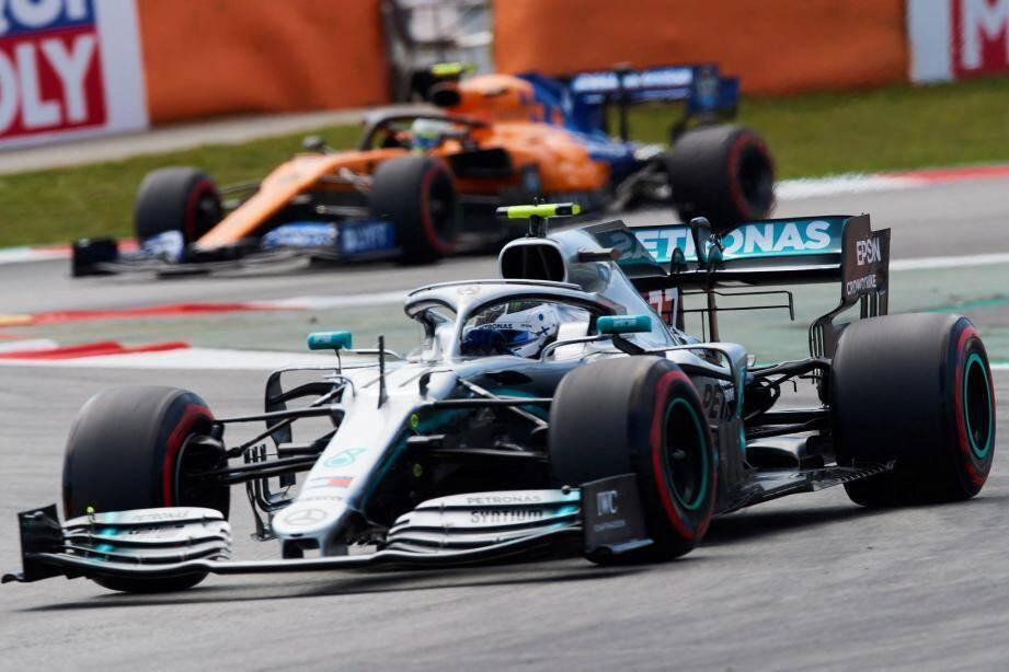 Bottas, leader du championnat du monde des pilotes, confirme sa bonne forme actuelle.