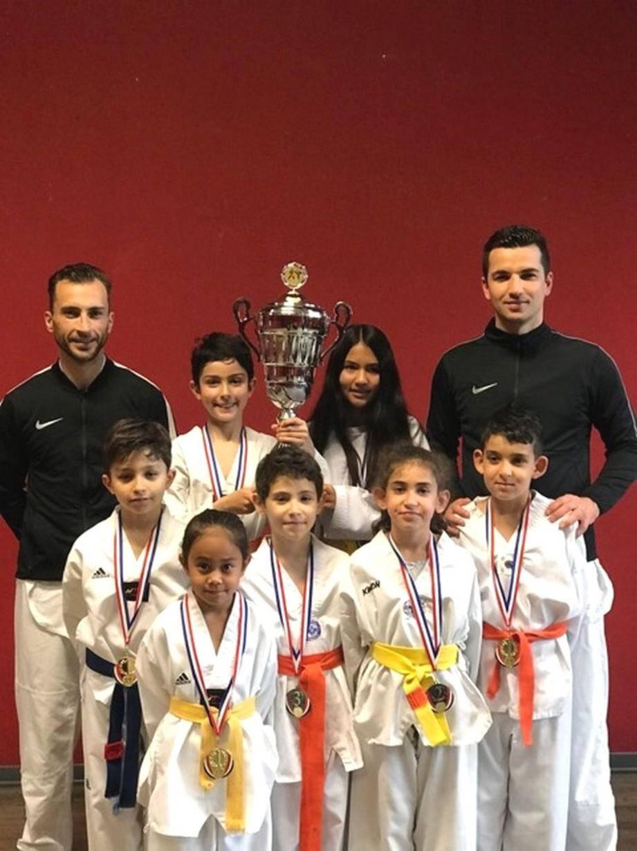 Plusieurs adhérents du club de Taekwondo de Gorbio ont brillé aux championnats de France F.F.S.T.(DR)