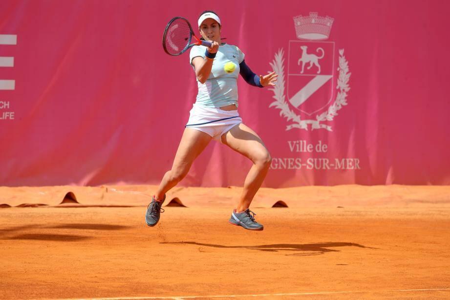 Après sa victoire hier Christina McHale tentera de se qualifier pour Roland- Garros.