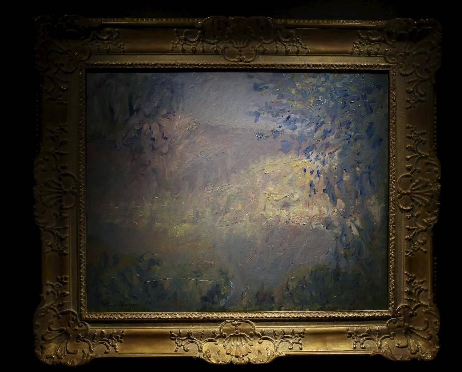 La toile appartient au Prince Albert II de Monaco.