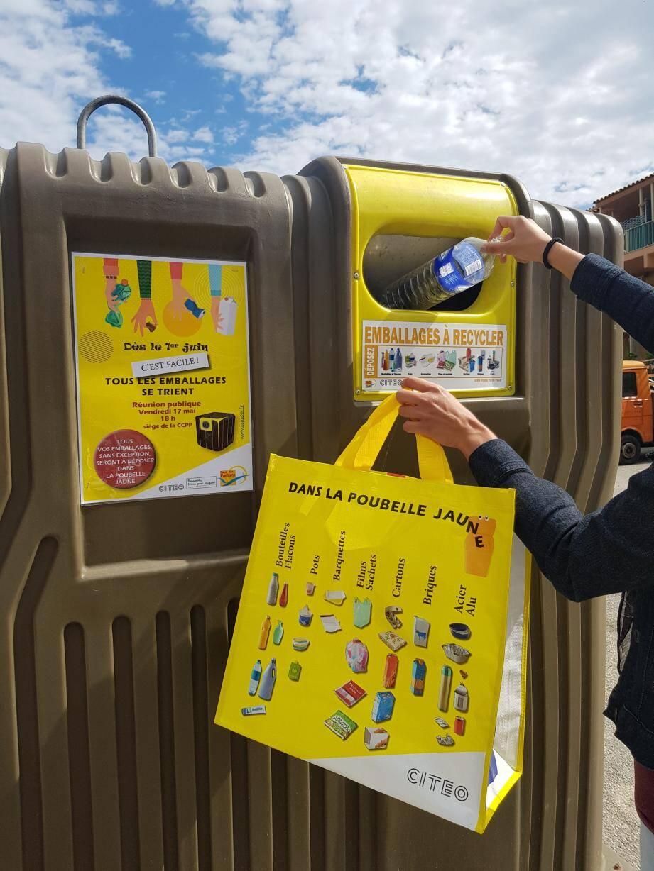 À partir du 1er juin, les consignes de tri changent dans le Pays-des-Paillons et s'étendent aux pots, barquettes, films, sachets et capsules de café en aluminium.