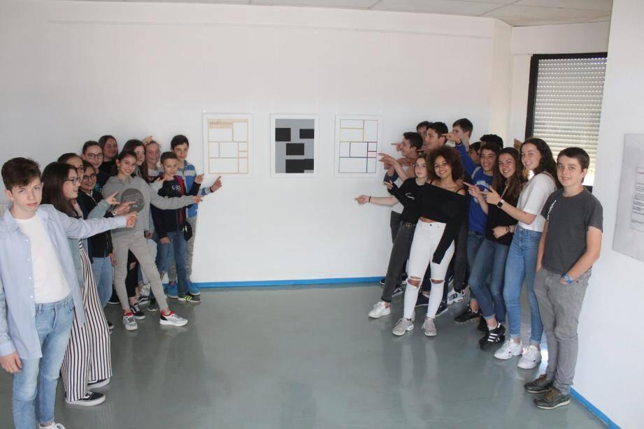 Pour cette première un partenariat a été passé avec le Musée d'Art concret de Mouans-Sartoux.