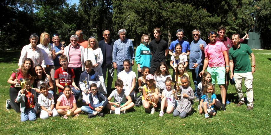 Les lauréats de l'ASLM Cannes réunis.