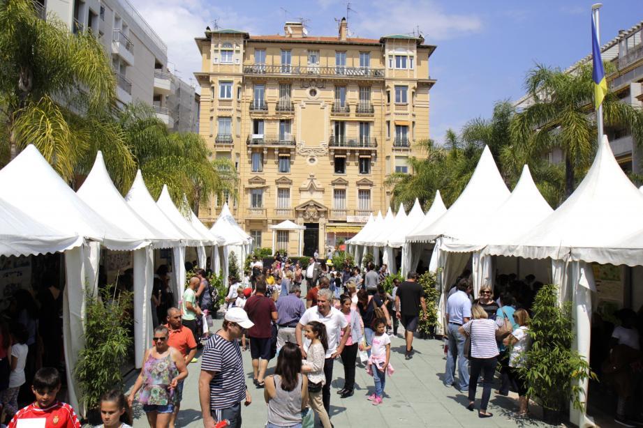 Le Festival du Livre Jeunesse ouvrira ses portes demain samedi Place de la Libération.