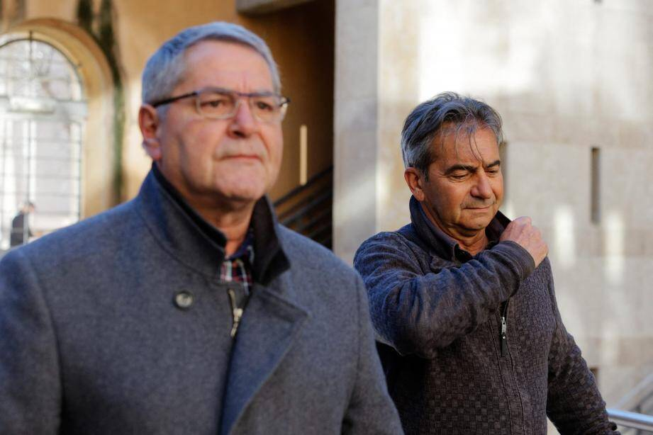 Pacsal Fauret et Bruno Odos ont passé un peu plus d'un mois en détention, à Luynes, après leur condamnation le 5 avril dernier.