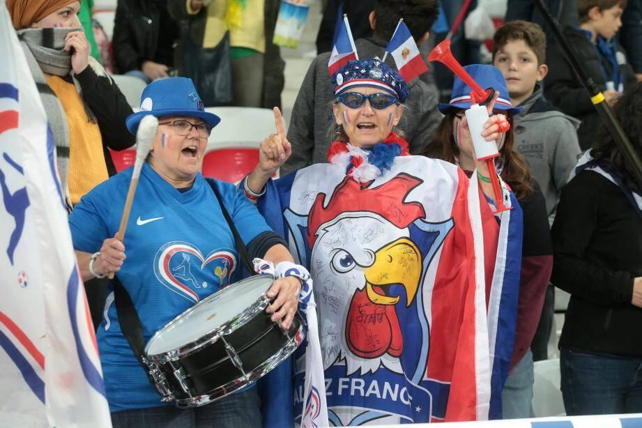 En novembre dernier, les Bleues avait dompté le Brésil à l'Allianz Riviera (3-1). Ce soir-là, le public avait répondu à l'appel.