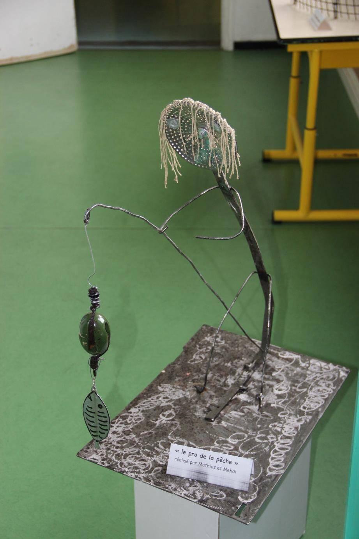 Le pro de la pêche a été réalisé par des élèves de l'école.