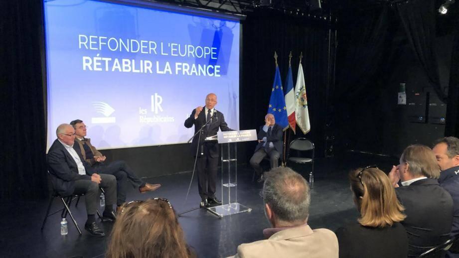 Eric Ciotti et Bernard Asso (à droite) ont lancé un appel à la mobilisation.(DR)