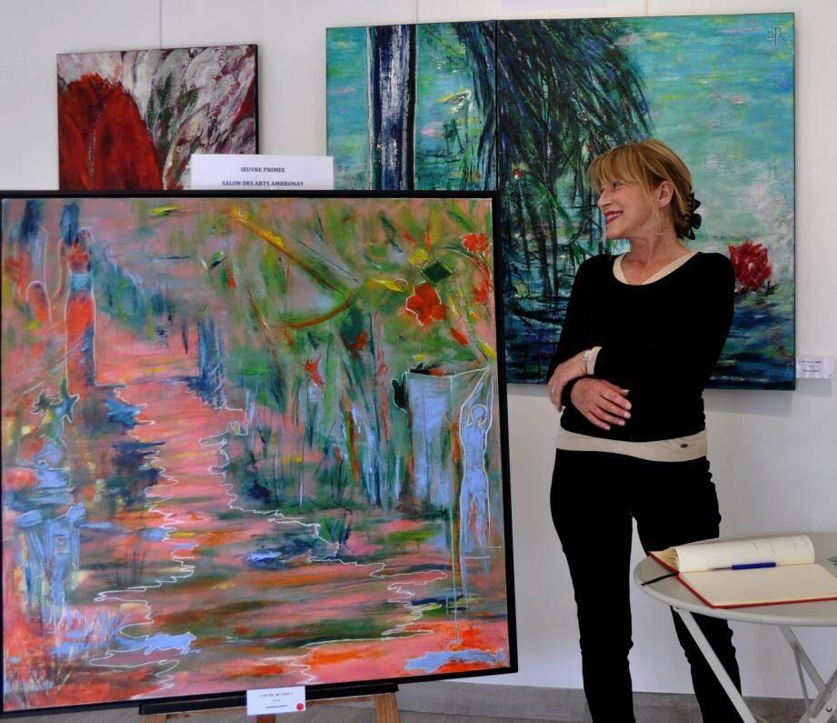 Dominique Phenix expose à Bandol Art Gallery jusqu'au 22 mai.