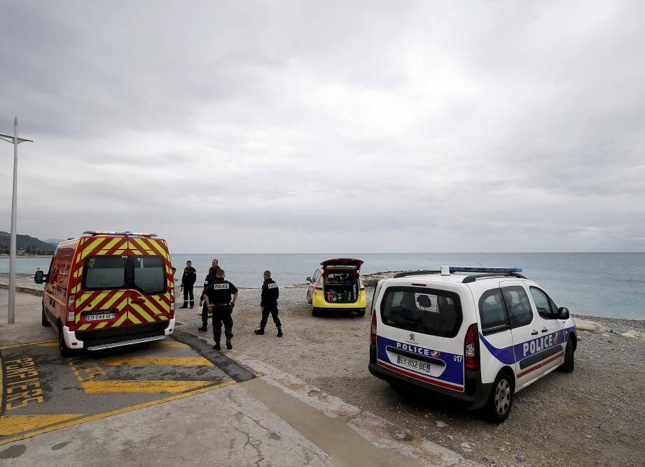 L'accident s'est produit sur la plage du Casino. (Photo J-F Ottonello
